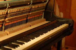 Pianino na przestrzał...