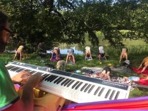 Pianomatyk - Pianojoga - Praga 2020r. Fot. A. Poznańska